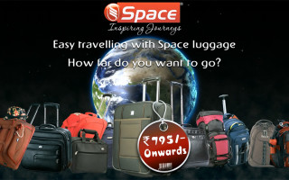 Space Luggage Advert